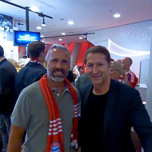 Meet & Greet spannender Persönlichkeiten wie Österreichs Nationaltrainer Franco Foda